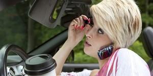 Женские ошибки за рулем