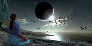15 апреля - полное лунное затмение